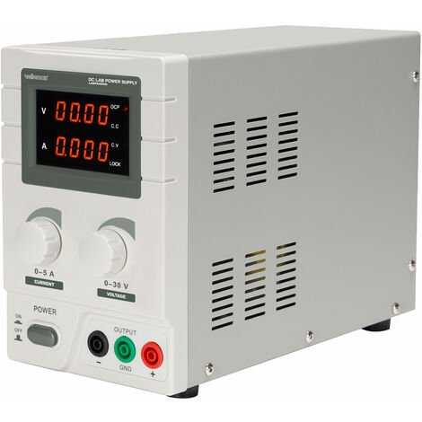 Velleman DC Lab Power Supply 0-30 VDC / 0-5A Max Dual LED Display