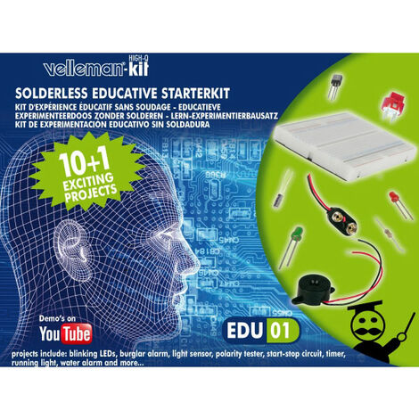 Velleman EDU01 Electronics Kit for Beginners