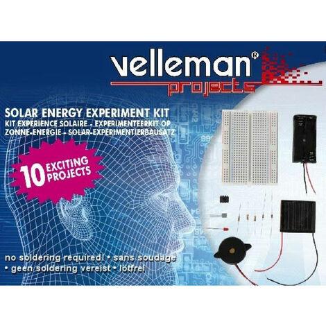 Velleman EDU02 'Experiment on Solar Energy' Kit