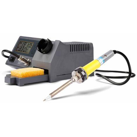 Velleman Estación de soldadura LCD y calentador cerámica 48 W VTSSC40N