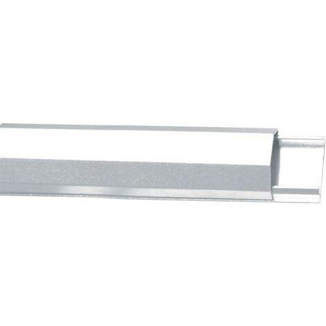Velleman Goulotte passe-cables - aluminium - 33mm x 1100mm - blanc (WBCC04W)