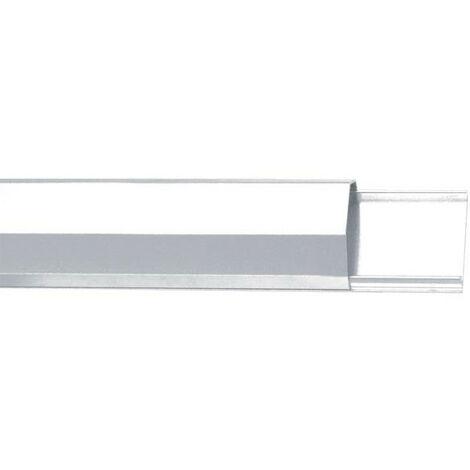 Velleman Goulotte passe-cables - aluminium - 50mm x 1100mm - blanc (WBCC05W)