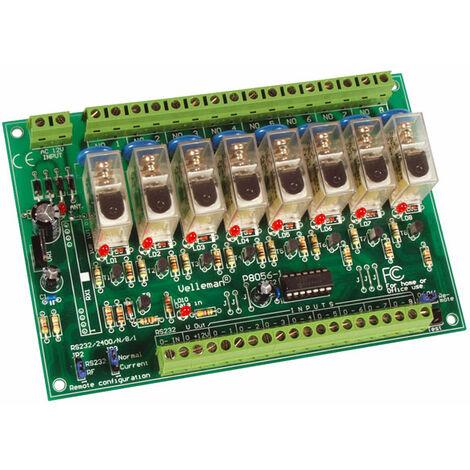 Velleman K8056 8-Channel Relay Card Kit