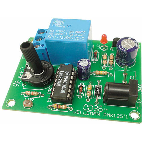 Velleman MK125 Light Sensitive Switch Kit