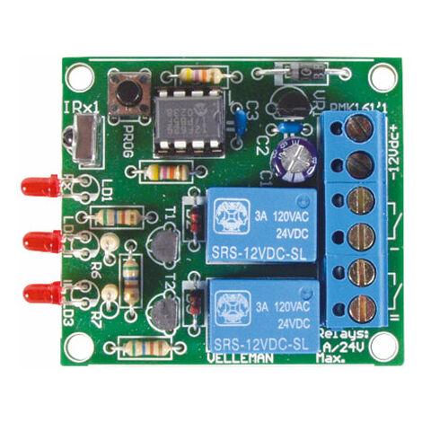 Velleman MK161 2-channel IR Receiver Kit