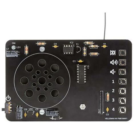Velleman MK194N UKW Radio Bausatz 9 V/DC W70829