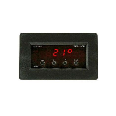 Velleman Module de thermometre numerique avec affichage de temperature min/max (VM145)