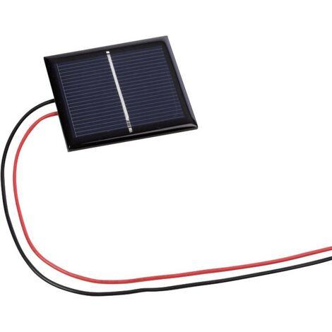 Velleman SOL1N Polykristallines Solarmodul 0.5V D926141