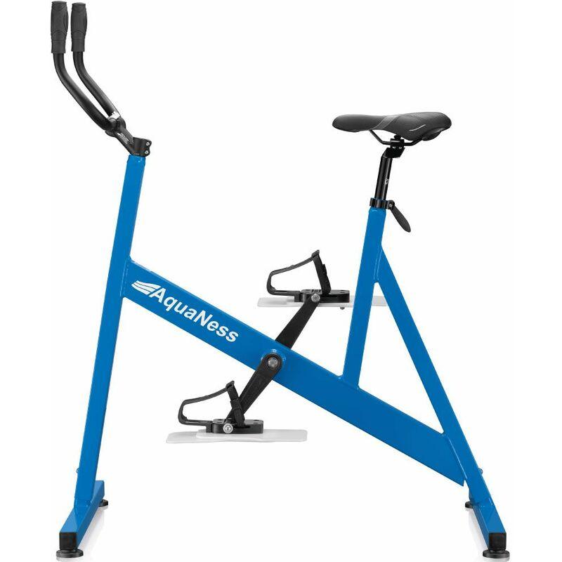 Vélo de piscine aquabike aquaness v1 bleu ciel