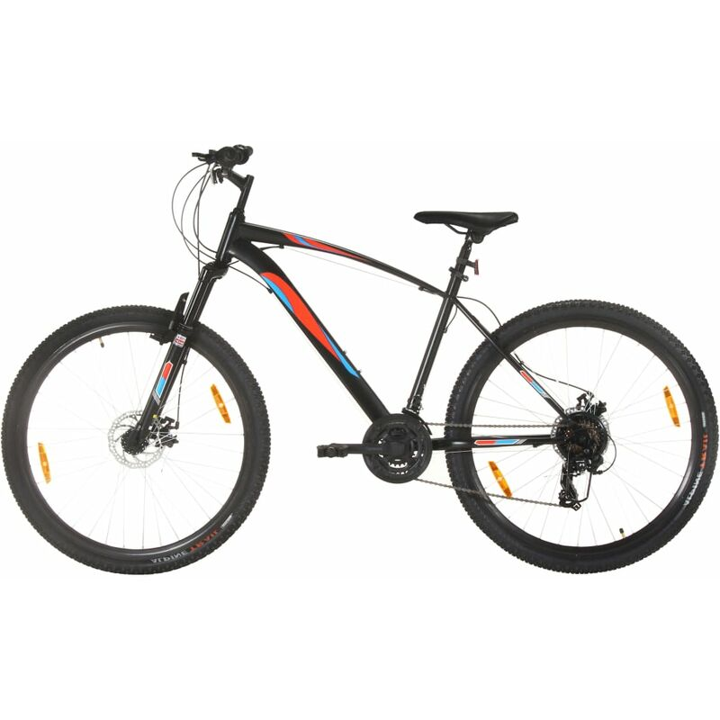 Vidaxl - Vélo de montagne 21 vitesses Roues 29 pouces Cadre 48 cm Noir