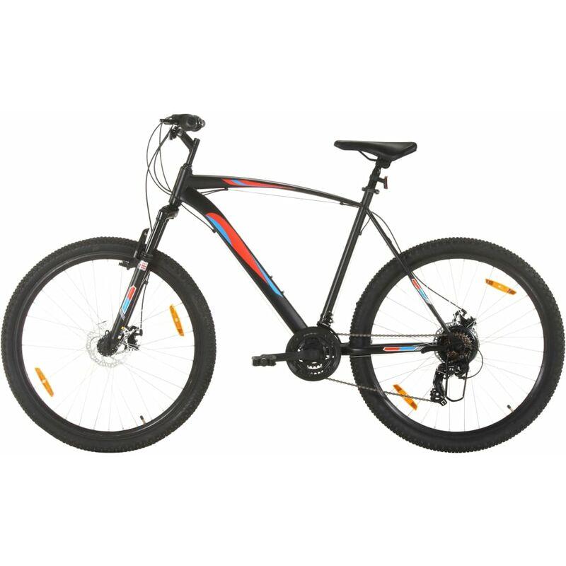 Vidaxl - Vélo de montagne 21 vitesses Roues 29 pouces Cadre 53 cm Noir