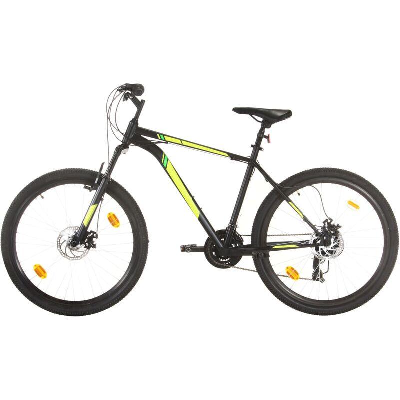Vidaxl - Vélo de montagne 21 vitesses Roues de 27,5 pouces 42 cm Noir