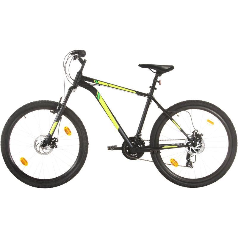 Vidaxl - Vélo de montagne 21 vitesses Roues de 27,5 pouces 50 cm Noir