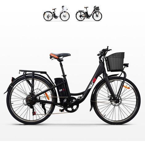 Vélo électrique ebike pour femme avec panier 250W RKS XT1 Shimano