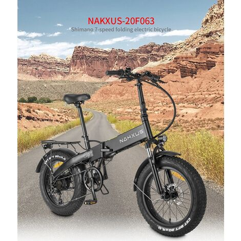 Vélo pliant NAKXUS- 20F063 20 noir