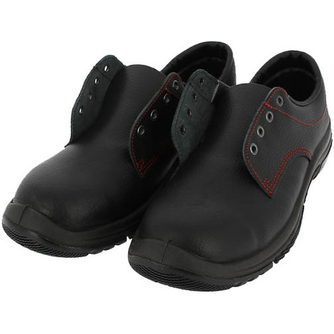 VELOCE Chaussures de sécurité mixte en cuir noir S3 S24