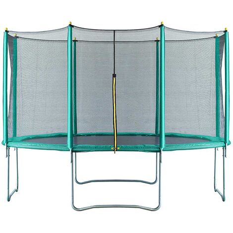 Velocity 14ft Trampoline with Safety Enclosure