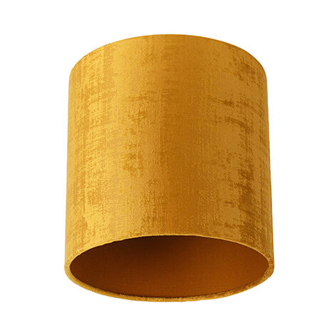 Velor lampshade gold 20/20/20
