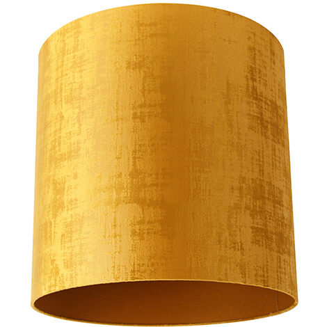 Velor lampshade gold 40/40/40