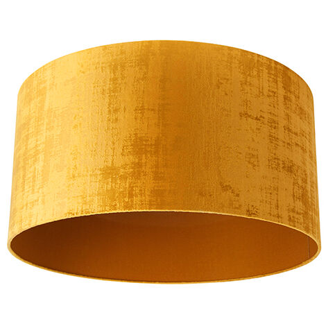Velor lampshade gold 50/50/25