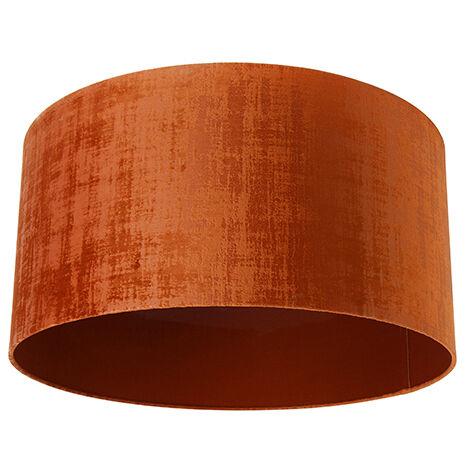 "main image of ""Velor lampshade orange 50/50/25"""
