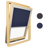 Velux ® Compatible Honeycomb Insulation Blind - 606 - Blue