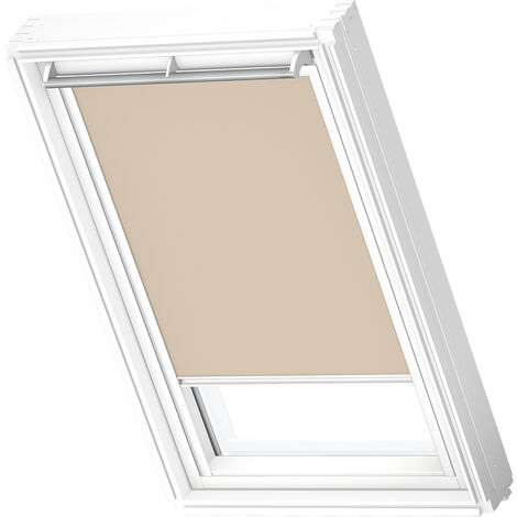 VELUX Original Blackout Blind (DKL), White Frame