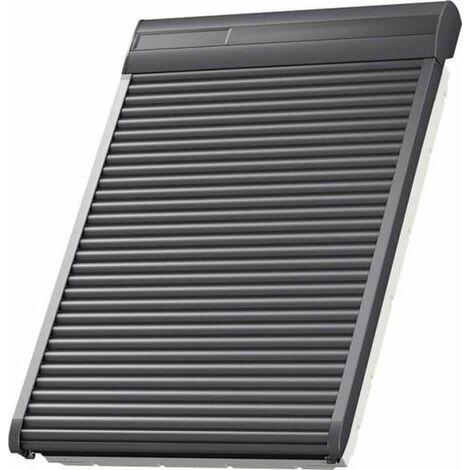 VELUX Solar-Rollladen SSL MK08 0000S Aluminium Dunkelgrau