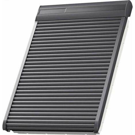 VELUX Solar-Rollladen SSL PK06 0000S Aluminium Dunkelgrau