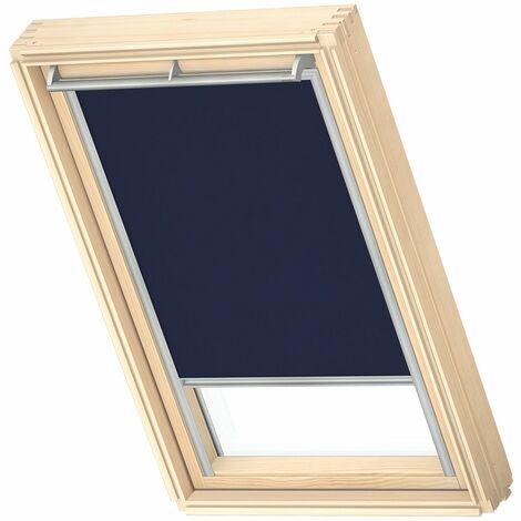 VELUX store occultant (DKL) original, cadre argenté, pour fenêtre de toit VELUX U04, 804, 7 - Taupe Clair