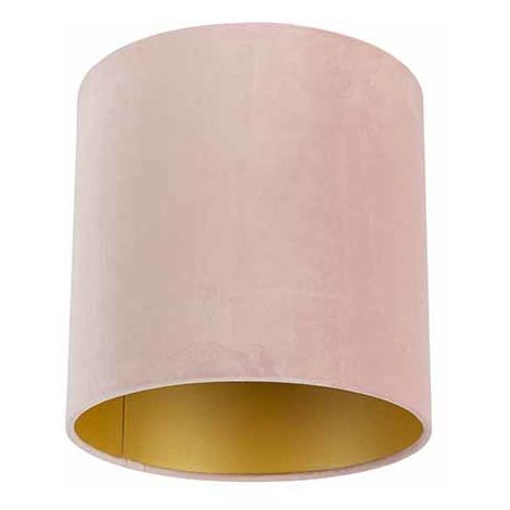 Velvet Shade Blush Pink with inner GoldÂ25/25/25