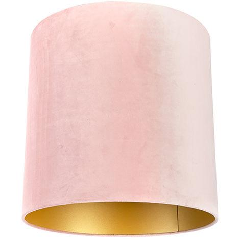Velvet Shade Blush Pink with inner GoldÂ40/40/40