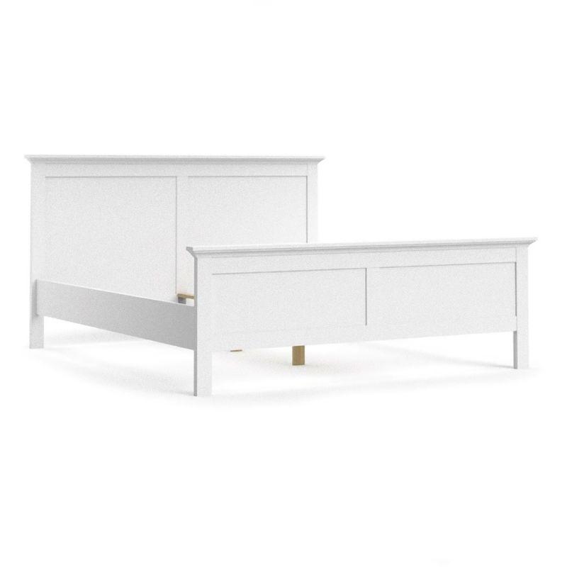 Venedig Bett Doppelbett 180x200 cm weiss. 07-7670349 - PKLINE