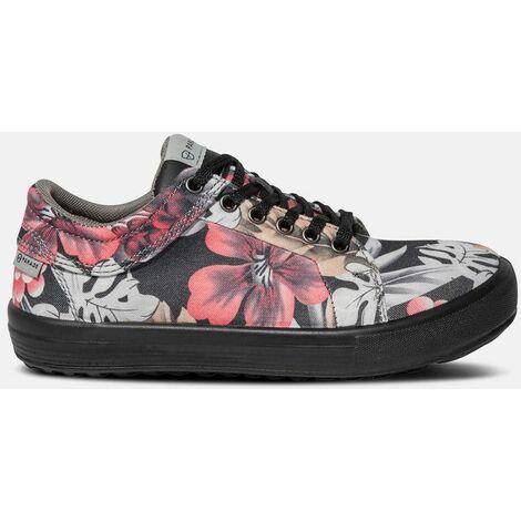 VENICE 7856- Chaussures de sécurité niveau S1P - Femme - taille : 41 - couleur : Rose - PARADE - Rose