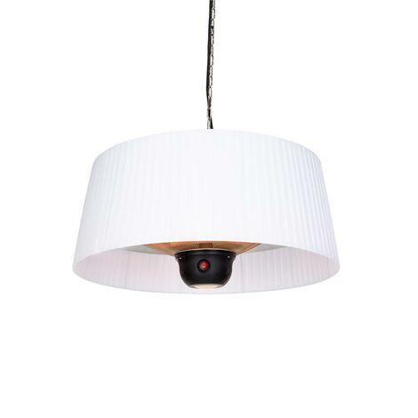 Venice Heat Patio Heater 800/1000 / 1800W Remote Control White