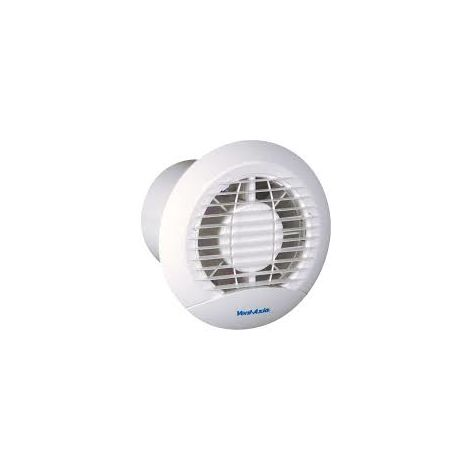 "Vent - Axia 427310 ECLIPSE 100X 4"" (100mm) Extractor Fan with Back - Draught Shutter"