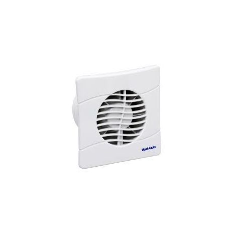 Vent - Axia BAS100SLB Slim Line Extractor Fan with Backdraught Shutters
