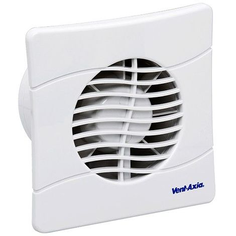 Vent - Axia BAS100SLT Extractor Fan with Backdraught Shutters and Timer