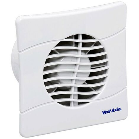 Vent-Axia BAS150SLB Axial Bathroom Kitchen and Toilet Fan - 436533