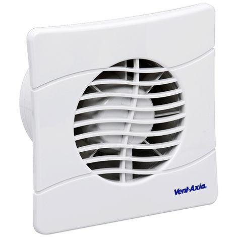 Vent-Axia Basics BAS150SLB Slimline Shuttered Fan (436533)
