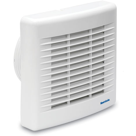 Vent-Axia Basics BAS150T Unshuttered Fan With Timer (436527)