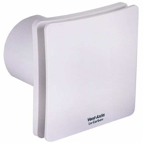 Vent Axia Lo-Carbon Centra Humidistat Timer & Extractor Fan - 473827