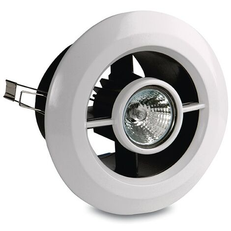 Vent-Axia Luminair H Inline Fan and Light Fan Kit with Humidistat - 453416