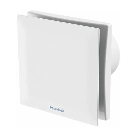 Vent Axia Silent VASF100HT 7.5W Extractor Fan With Humidistat White 240V - 477436