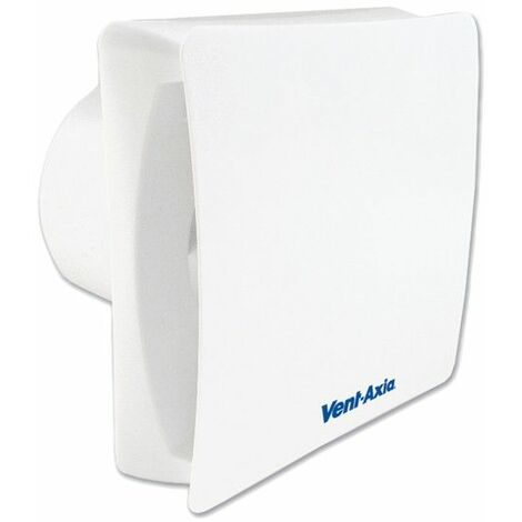 """Vent-Axia Silent VASF100T Axial Bathroom and Toilet Fan With Timer 4""""/100mm - 446659"""