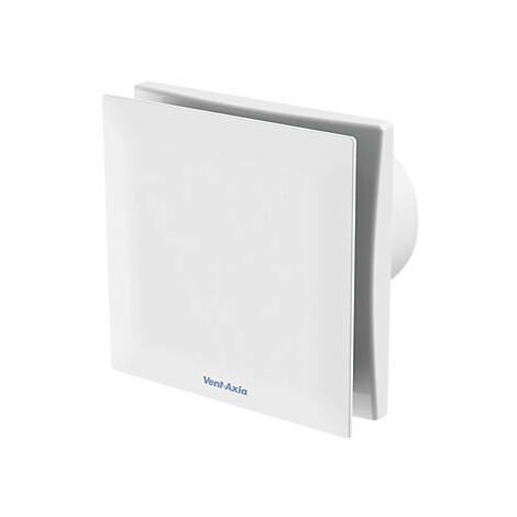 Vent Axia Silent VASF100TC 7.5W Extractor Fan With Timer & Continuous Running White 240V - 479088