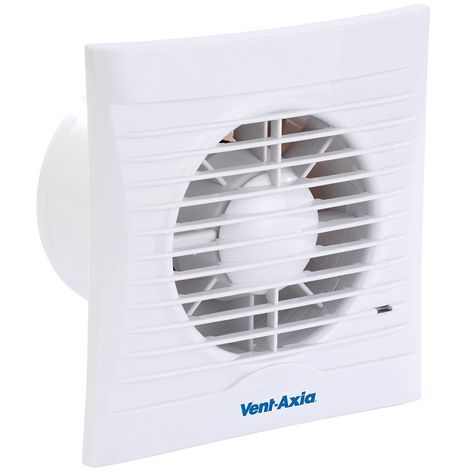 Vent - Axia SILHOUETTE 100T 454056 100mm Extractor Fan with Shutters and Timer