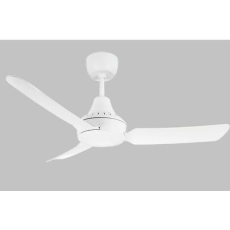 Vent-Axia Stanza Ceiling Fan with LED Light & Wireless Remote - STA1203LEDWH-VA