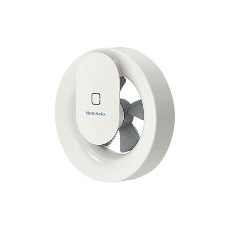 Vent-Axia Svara Lo-Carbon Axial Kitchen and Bathroom Fan - 409802
