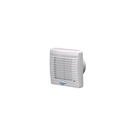 Vent-Axia VA100SVXP12 Axial Fan Bathroom Fan With Shutter & Pullcord (258310BD025)